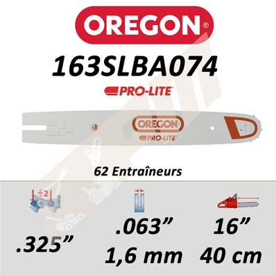 Guide de tronçonneuse OREGON PRO-LITE 40 CM