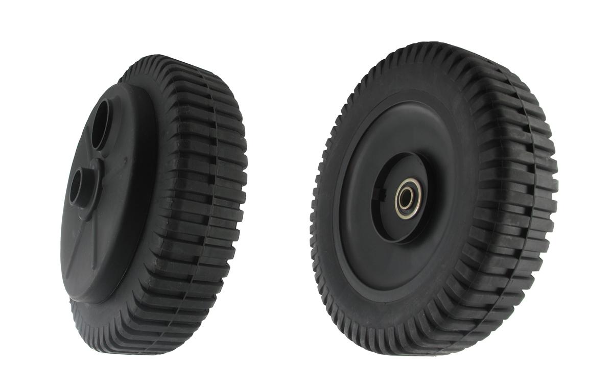 roue de tondeuse tract e husqvarna 193139 180753. Black Bedroom Furniture Sets. Home Design Ideas