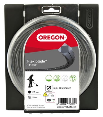 FIL DEBROUSSAILLEUSE OREGON FLEXIBLADE 2.50MM 53M