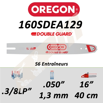 Guide de tronçonneuse OREGON DB GUARD 40 CM