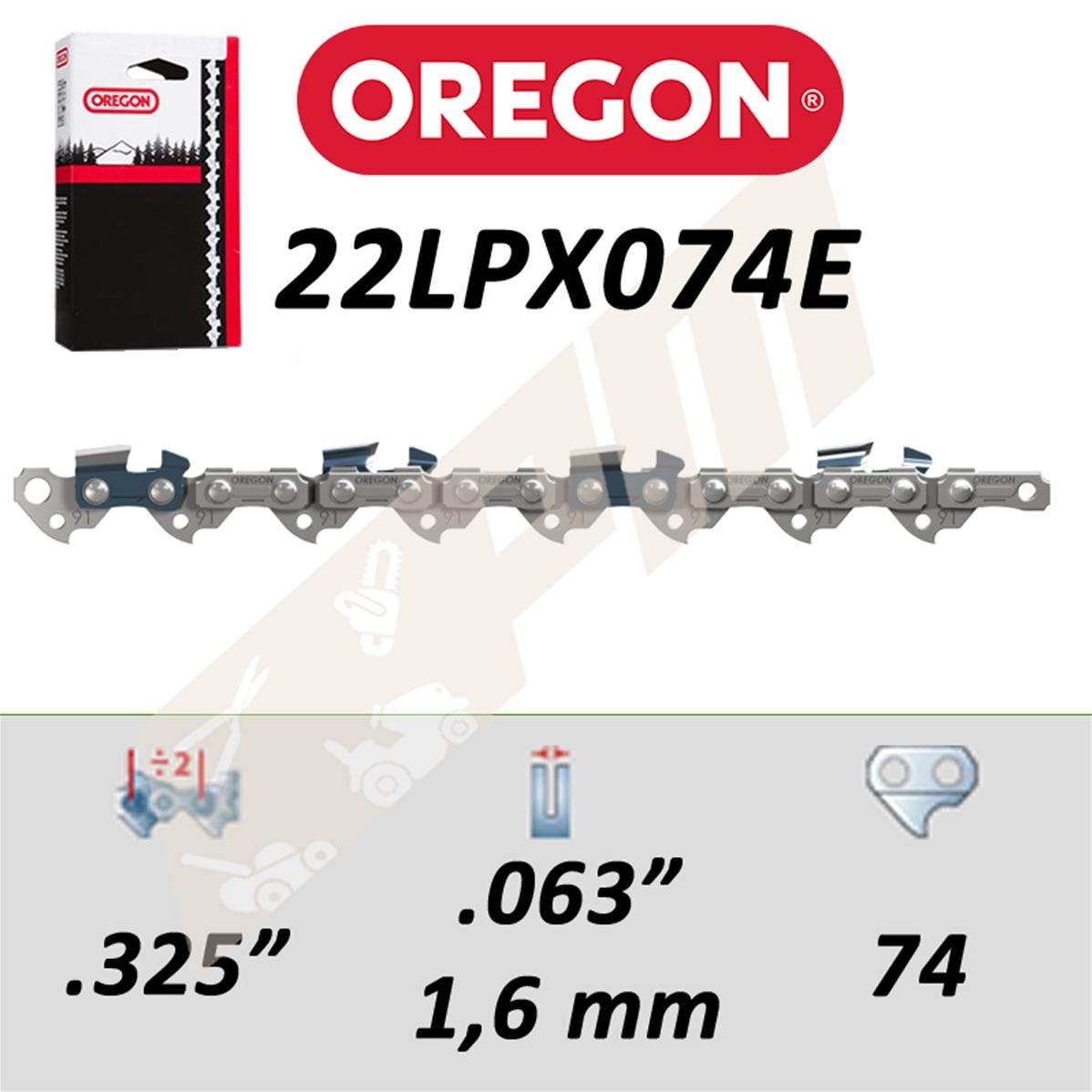 Oregon 2890496 21lpx076e 20 cha/îne 76e
