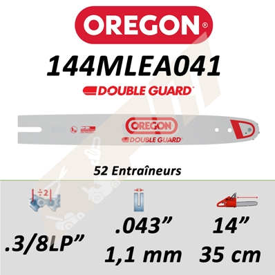 Guide de tronçonneuse OREGON MICRO-LITE 35 CM