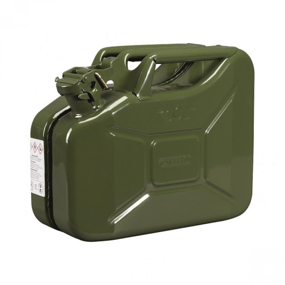 Plus adapté Bidon essence métal 10 litres QY-45