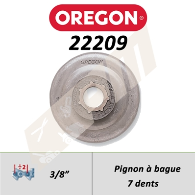 PIGNON OREGON POWER MATE 3/8
