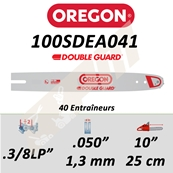 Guide de tronçonneuse OREGON 100SDEA041 3/8LP 1.3 mm 25 cm