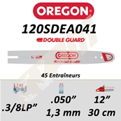 Guide de tronçonneuse OREGON 120SDEA041 3/8LP 1.3 mm 30 cm