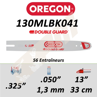 Guide de tronçonneuse OREGON MICRO-LITE 33 CM