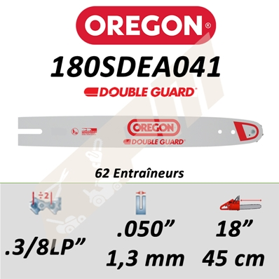 Guide de tronçonneuse OREGON DB GUARD 45 CM