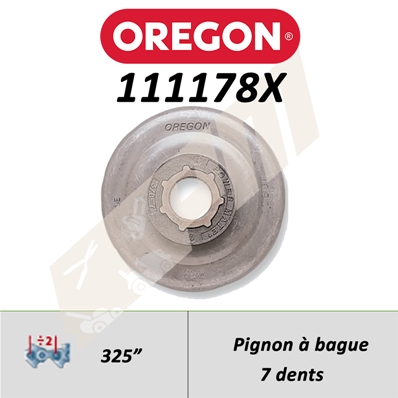 Pignon de tronçonneuse OREGON POWER MATE .325
