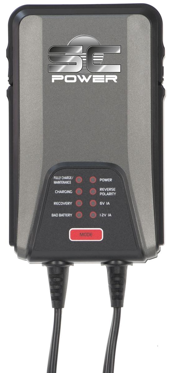 chargeur de batteries 6v 12v 9 phases 1 0 amp. Black Bedroom Furniture Sets. Home Design Ideas